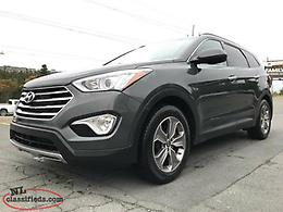 2015 Hyundai Santa Fe XL LIMITED AWD (NEW BRAKES, ONE OWNER)