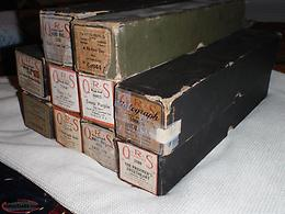 10 antique piano rolls