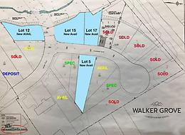 "200"" deep lot - Walker Grove"