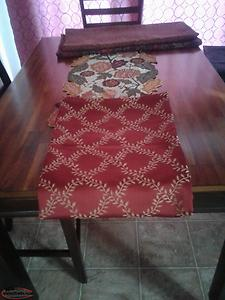 Table cloths for sale.