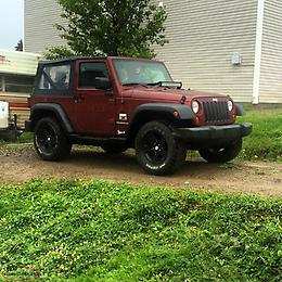 2009 Jeep Wrangler 2 door Soft Top