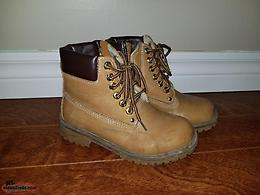 Size 1 Boys Fall Boots