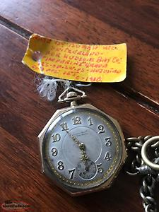 Antique pocket watch 138 years old in perfect working condition watch is mint
