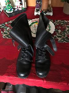 Vintage Ladies Motorcycle Boots