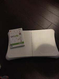 WII FIT and disc