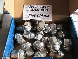 """Dodge"" Stainless Steel Nuts (Qty = 20)"