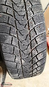 STUDDED TIRES 205 60 16