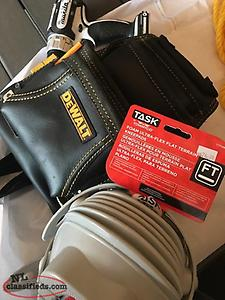 Dewalt Bag and new Knee Pads
