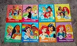 Lot of 8 Smart Pad Disney Princess Books New Condition