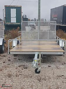 "2018 REMEQ 68""x132"" Utility Trailer"
