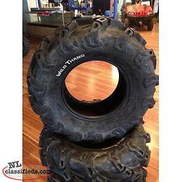"25"", 26"", and 27"" WILD THANG ATV Tires"