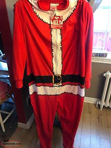 Men's Santa XL Christmas Pjs NEW