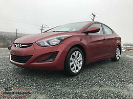 2015 Hyundai Elantra GL 6sp (WARRANTY FOR LIFE)