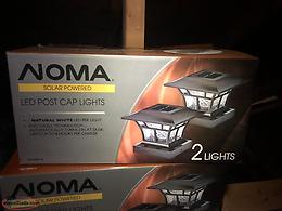 Solar lights (brand new)