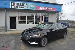 2017 Ford Fusion SE 'ALL WHEEL DRIVE' - 21K / Leather / Rear Camera