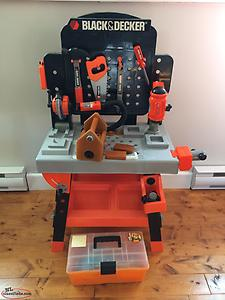 BLACK & DECKER Junior Power Tool Workshop