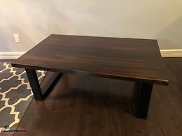 Like New! Solid Wood Rustic Coffee Table!