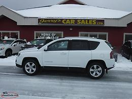2015 Jeep Compass 4x4 High Altitude Edition $129 B/W