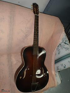 old KAY ACOUSTIC GUITAR