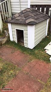 3'x4' Insulated Dog House