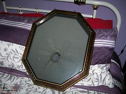 Wooden Framed Wall Mirror in excellent condition