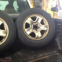215/70-16 studded tires and rims