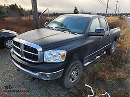 2007 Dodge Ram 2500 SLT 4x4 INSPECTED with Plow- Package