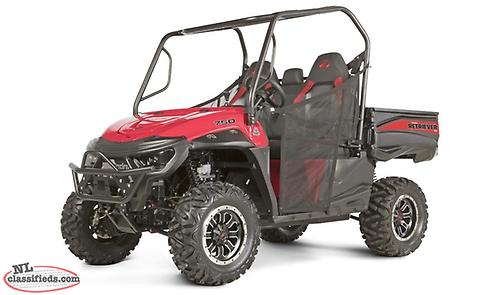 2018 Mahindra Retriever 750B