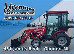 NEW Attachments, LOTS of Power, GREAT Prices! TYM Tractors at Adventure Sales!