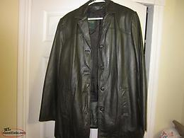 Ladies Leather Coat (Danier)