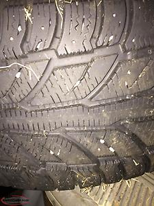 Two 235/55R17 Winter Tires