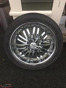 Set of 4 FAST Chrome Rims
