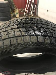 Four 245 55 19 winter tires