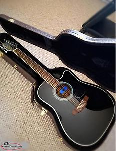 12 String Takamine Acoustic/electric Guitar