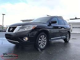 2014 Nissan Pathfinder SL at 4X4 (LEATHER, 3RD ROW SEATS)