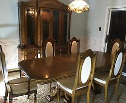 Oak Dining Room 11pc Set