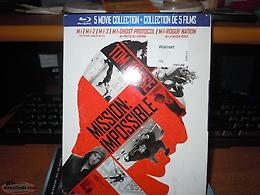 MISSION:IMPOSSIBLE 5 MOVIE COLLECTION BLUE-RAY NEW