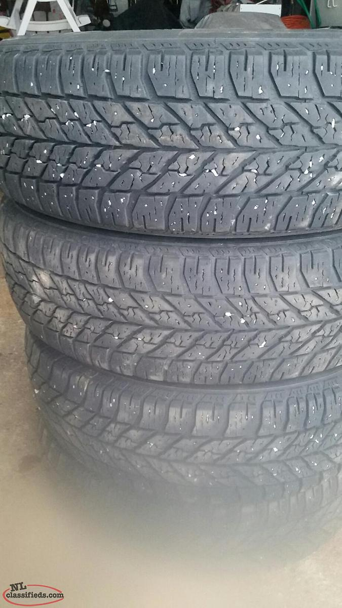 Winter Tires Off Ford Edge