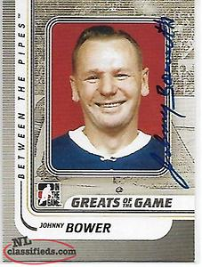 johnny bowen signed card