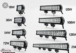 LED LIGHTS AND LIGHT BARS