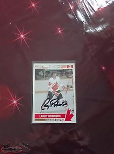 larry robinson signed