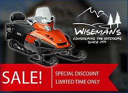 SNOWMOBILE SALE ON NOW!