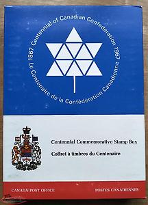 Centennial Commemorative Stamp Box