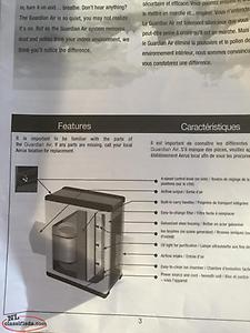 FOR SALE one Lux Guardian Air Purification system