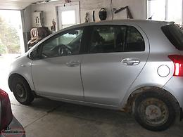 WANTED TO BUY A TOYOTA YARIS CAR FOR PARTS
