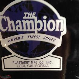 The Champion Juicer (Clarenville,NL)