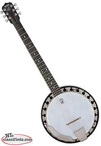 6 String Banjo LOOKING