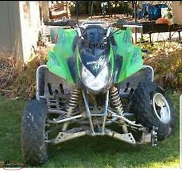 Wanted to buy ATV in need of repair