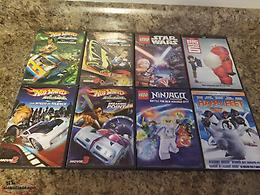 Eight dvd movies