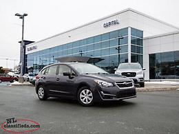 2016 Subaru Impreza 5Dr 2.0i at- $174.52 B/W (Tax In)